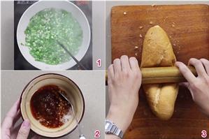 Cách làm bánh mì nướng muối ớt đang gây bão ở Sài Gòn