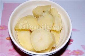 Đổi vị với khoai tây chiên xù