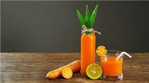 8 lợi ích làm đẹp của nước ép cà rốt