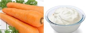 8 công dụng thần kỳ của sữa chua - cà rốt