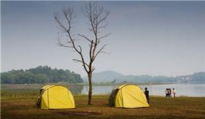 Hai điểm cắm trại cho gia đình gần Hà Nội