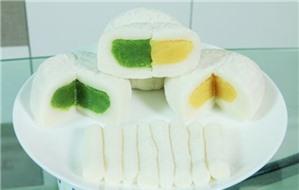 Cách làm bánh Trung thu dẻo nhân đậu xanh mix trà xanh thơm mát