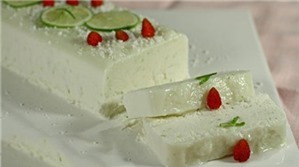Bánh Bavarese chanh dừa ngon miệng mà dễ làm